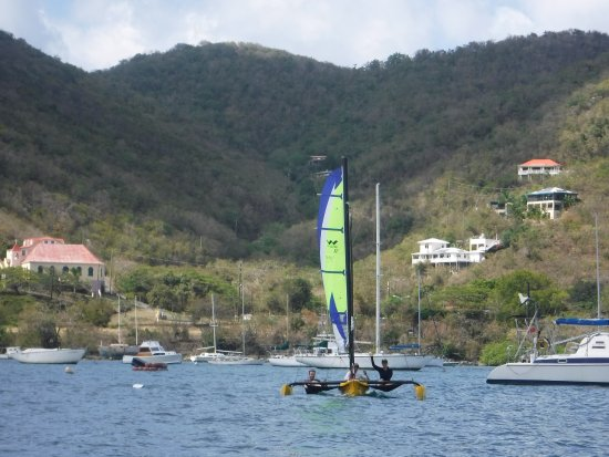 Coral Bay, St. John: Our windrider boats for rent