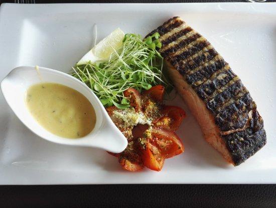 Vilvoorde, Belgium: Filet of salmon