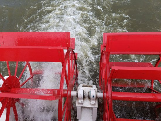 Harrisburg, PA: The Pride of the Susquehanna - paddle wheels