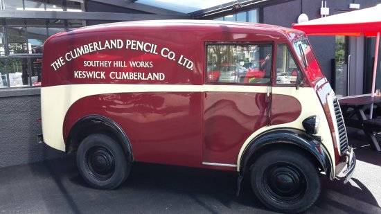 Queen S Visit Picture Of Derwent Pencil Museum Keswick