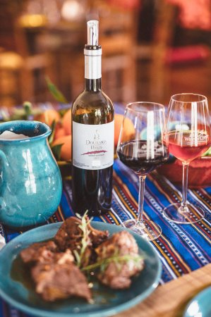 Alikampos, Grecia: The wine meal
