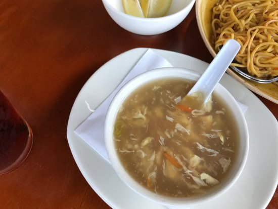 Lombard, IL: egg drop soup