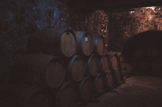 Alikampos, Grecia: Dourakis Winery Cellar