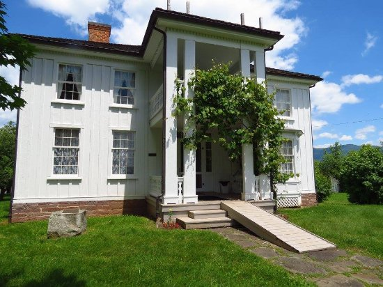 Hillsboro, Virginia Occidentale: View of the birthplace home