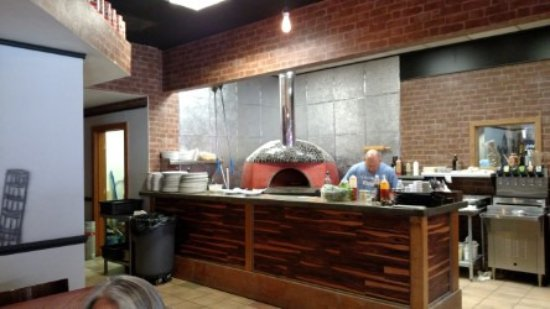 Pisano's Woodfired Pizza: The Chef and owner. Really friendly and super nice guy!