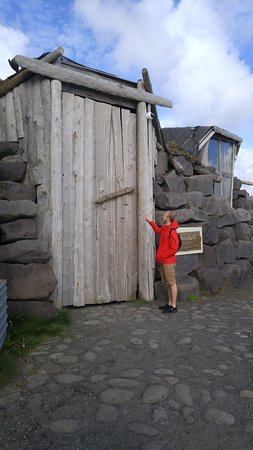 Keflavik, Iceland: The door was closed but still super cool!