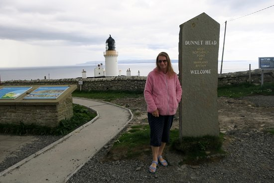 Dunnet Head: By the inscription
