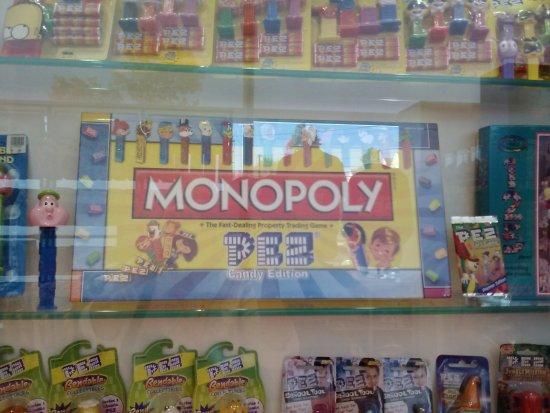 Orange, CT: Monopoly PEZ...who knew?