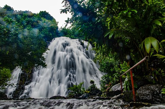 Kepirohi Waterfall : The waterfall