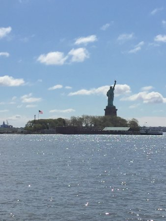 Statue of Liberty from Liberty State Park