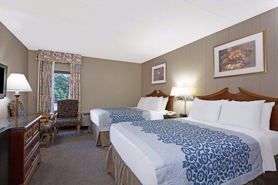 Days Inn Lanham Washington D.C: Double Bed Guest Room