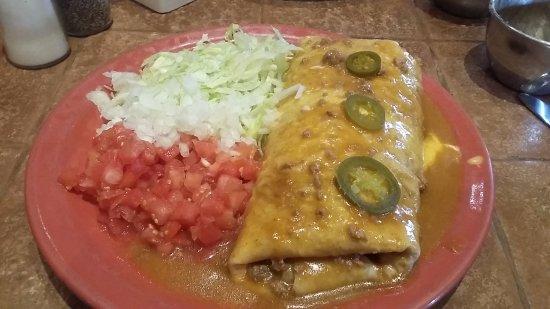 Pearland, TX: Big Sucker Burrito