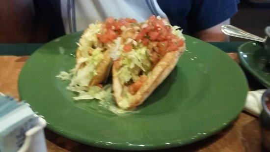 Pearland, TX: Shrimp tacos