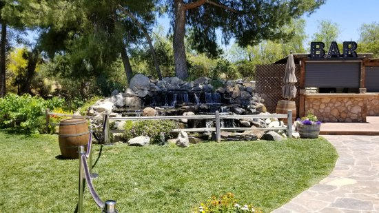Temecula, CA: Grounds of winery.