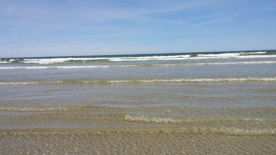 Ogunquit Beach: Vue de la mer