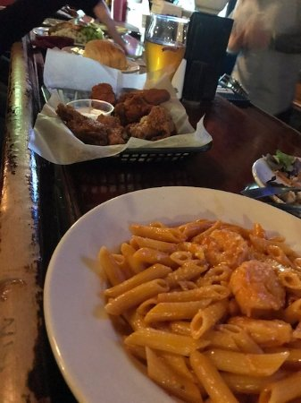 Bangor, PA: Shrimp Penne