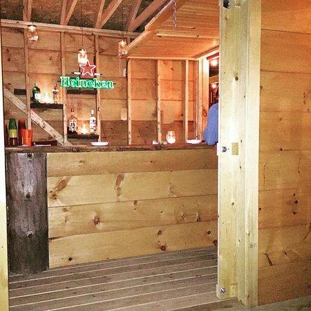 Waymart, Pensilvanya: Outdoor bar