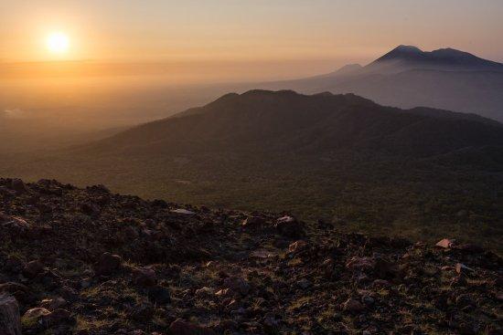 Leon, Nicaragua: Vista desde volcan telica