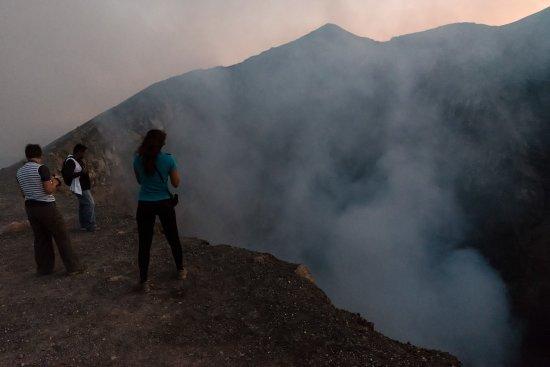 Leon, Nicaragua: Crater de volcan telica