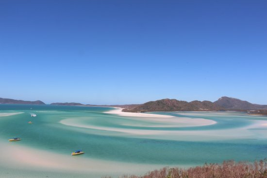 Ocean Rafting : At the hill Inlet lookout