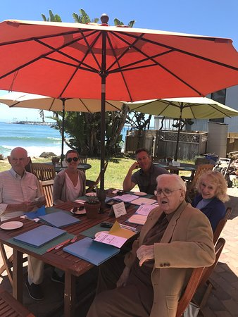 Shoals Restaurant at The Cliff House Inn: Another perfect day at The Shoals.