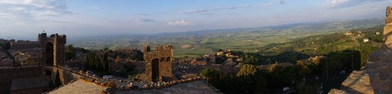 Montalcino, Italia: Climbing the towers is a must - such a stunning panorama