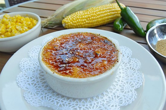 Bob's Steak & Chop House : Jalapeño Cream Corn Brulee