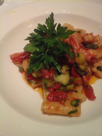 The Westin Excelsior Florence: paccheri con gamberi