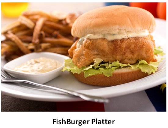 Bedford, Kanada: Now that's a fishburger!  If you're in our area, stop in and try one.  It's delicious