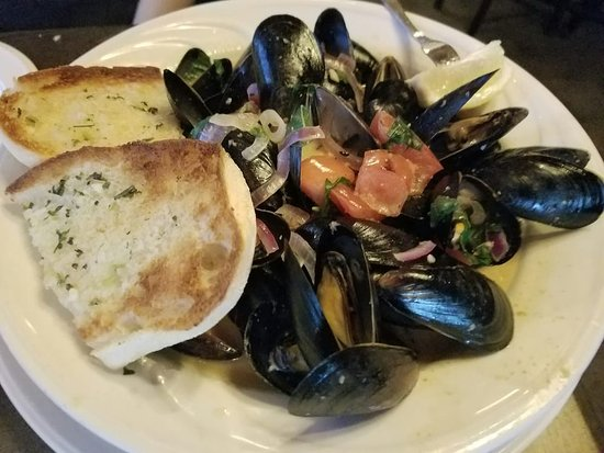 Bayside, NY: Mussels from Main Floor Dining Room