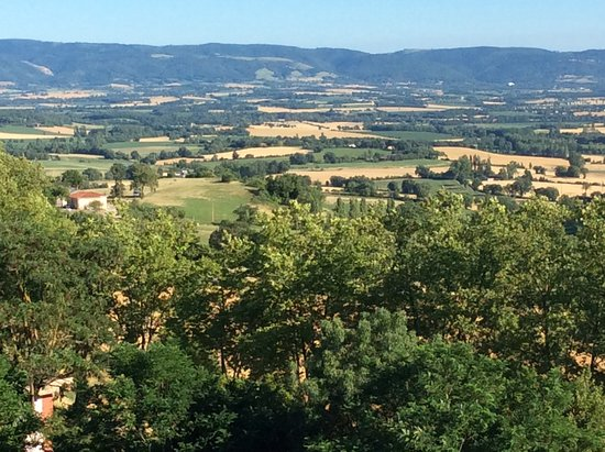 Puylaurens, Frankrig: Black Mountains of the Haute Languedoc