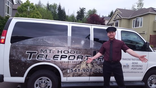 Prineville, OR: Will is the driver I met -- great smile and great service!