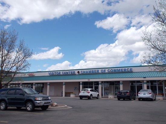 Los Alamos NM Visitor's Center.