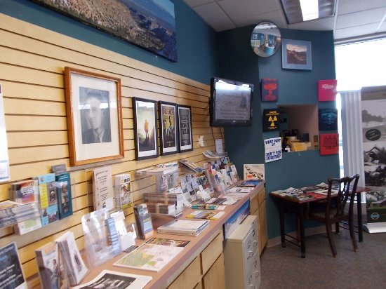 ‪‪Los Alamos‬, نيو مكسيكو: Los Alamos NM Visitor's Center.‬