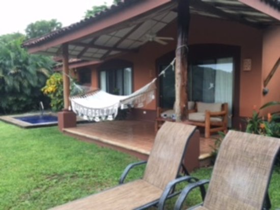 Punta Islita, Costa Rica: View of the private patio and plunge pool