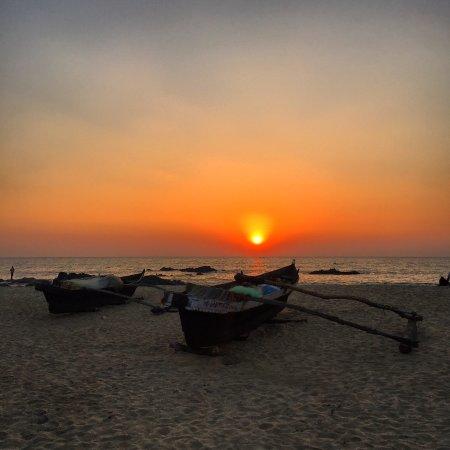Patnem, Indien: Sunset