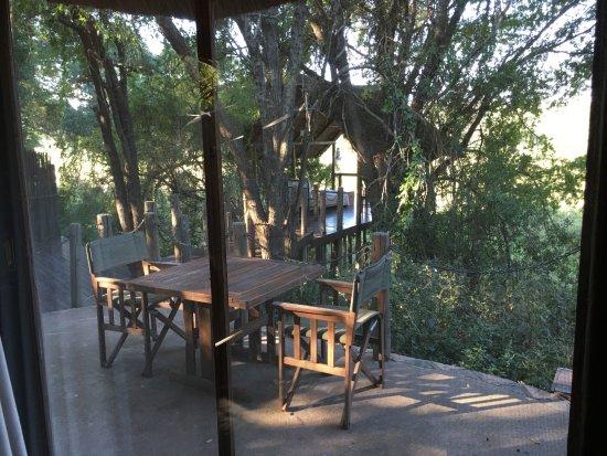 Jock Safari Lodge: Outdoor seating