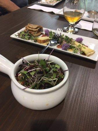 Нельсон, Канада: Fresh micro-green salad