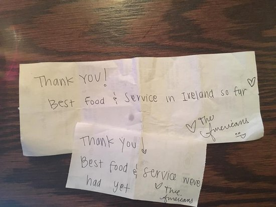 notes from our lovely customers we appreciate all your kind