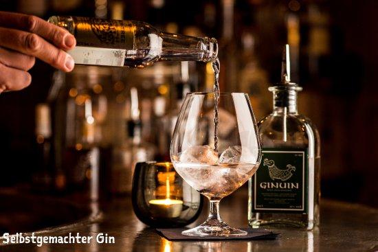 Celerina, Ελβετία: Selbstgemachter Gin