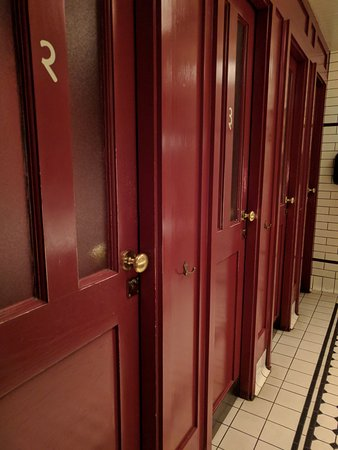 bathrooms - unique vibe - picture of dishoom king's cross, london