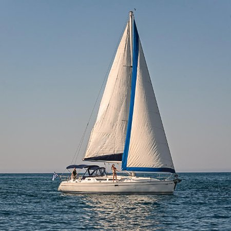 Jeanneau Sun Odyssey 40 Picture Of Notos Day Sailing Chania Town
