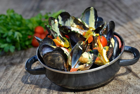 La Mesa, Californië: BO-beau's Mussels