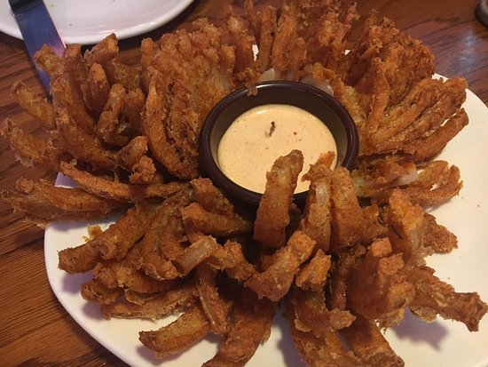 Lake Forest, Californië: Blooming Onion