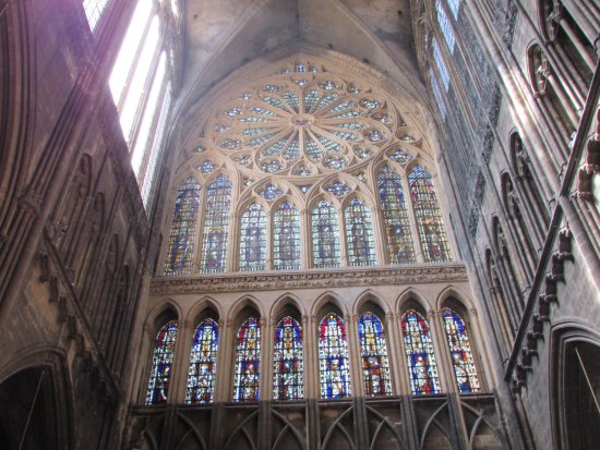 Vitraux Metz vitraux par chagall - picture of metz cathedral, metz - tripadvisor