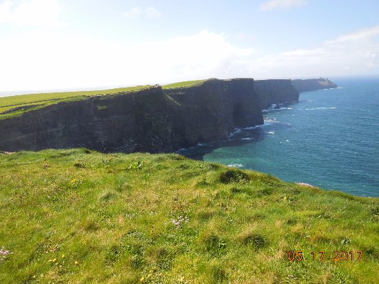 Dublin, Ireland: One of our stops was at the Cliffs of Moher. Don't miss this one!!!