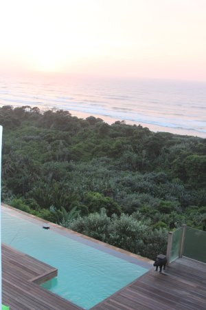 Trafalgar, South Africa: The view from my suite