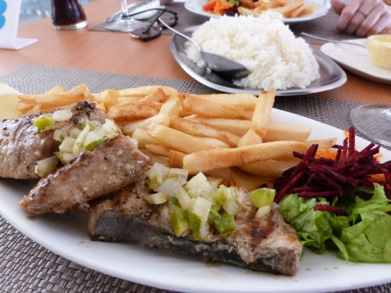 Espargos, Cape Verde: The food
