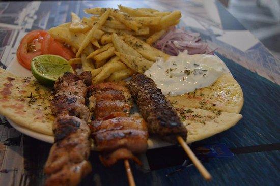 Grecia, Cafe y Suvlaki: Suvlaki Plato