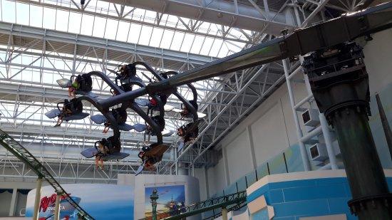 Nickelodeon Universe : Fantastic Nick Universe inside Mall Of America